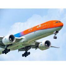 JC2321A 1/200 KLM B777-300ER ORANGE PRIDE PH-BVA 100 YEARS LOGO FLAPS DOWN WSTD