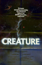 CREATURE 1985 Klaus Kinski, Stan Ivar, Wendy Schaal US 1-SHEET POSTER