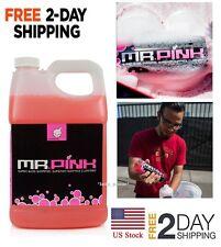 Car Wash Shampoo Pressure Jet Gun Soap Cleanser Foam Snow For Cannon Pink Gallon