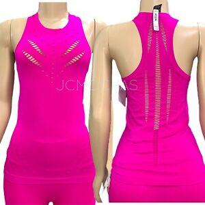 Victorias Secret Victoria Sport Seamless Tank Top Fuchsia Pink  S - M
