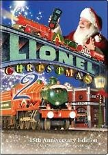 A Lionel Christmas 2 DVD NEW Macy's Grand Central FAO Schwarz Rockefeller Center
