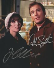 WILLIAM SHATNER JOAN COLLINS SIGNED 8X10 PHOTO STAR TREK CITY ON EDGE OF FOREVER