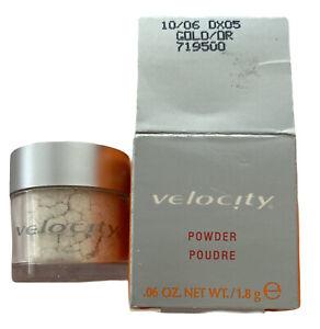 Mary Kay Velocity Loose Powder, Gold 719500 - 0.06oz Highlighter Shimmer Exp: 06
