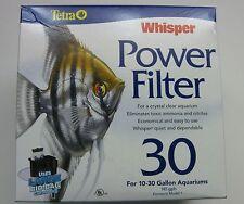 Tetra Aquarium Whisper 30 Power Filter for 10-30 Gallon Aquariums