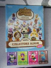 Amiibo Animal Crossing Series 3 - Scrapbook + 4 Cards - New