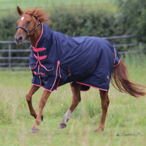 Gallop 50g Combo Neck Turnout Rug | Lightweight Turnout Rug - 5'9 6' 6'3 6'6 6'9