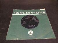 THE BEATLES 1963 PLEASE PLEASE ME SILVER & BLACK PARLOPHONE RARE P T TAX CODE