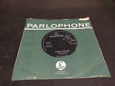 THE BEATLES 1963 PLEASE PLEASE ME SILVER & BLACK PARLOPHONE RARE P T TAX CODE