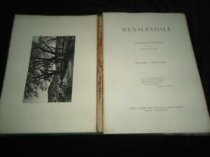 1872 Wensleydale Richard Samuel Chattock 14 etchings w. text RARE Yorkshire art
