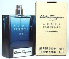 Acqua Essenziale Blu (Unbox) By Salvatore Ferragamo 3.4oz Edt Spray For Men Nerw