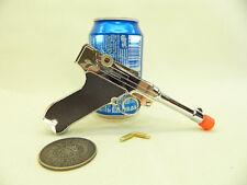 Metal Gun Scale Model - Luger P08 miniature gun display toy W