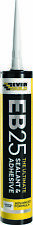 Pack Of 6 Everbuild EB25 Clear The Ultimate Sealant and Adhesive Hybrid Polymer