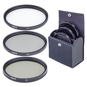 ProOPTIC 72mm Digital Filter Kit, with UV, Circular Polarizer, ND2 Filters