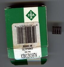2 Pieces INA K9X12X10TN Needle Roller Bearing - NEW Old Stock