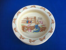 Vintage Royal Doulton Barbara Vernon BUNNYKINS Porridge Cereal BOWL 1937-53