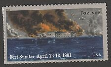 US 4522 Civil War 1861 Fort Sumter forever single (1 stamp) MNH 2011