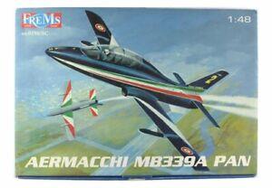 Aermacchi MB-339 PAN Frecce Tricolori kit in plastica 1/48 Frems art. 0198/SC