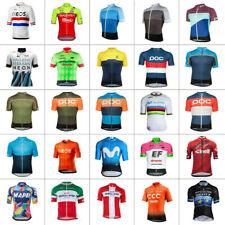 Men's Cycling Jersey Bicycle Short Sleeve MTB Top Team Racing Shirt
