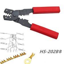 1Pcs HS-202B Portable Hand Crimping Tool Plier Terminals Crimpper Hand Tools
