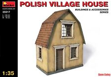 Miniart 35517 1:35th scale Polish Village House Buildings & Accessories Series