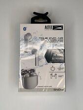 Altec Lansing TRUE EVO AIR Truly Wireless Bluetooth Earphones SNOW MZX634-WHT