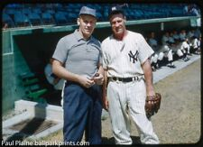 Original 35MM Color Slide  1958 New York Yankees Hank Bauer