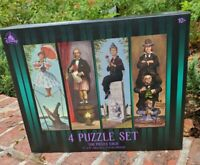 New Disney Parks The Haunted Mansion Stretching Portraits Room 4 Puzzle Set