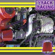 91 92 93-99 MITSUBISHI 3000GT GTO DODGE STEALTH N/T 3.0L V6 AIR INTAKE Black Red