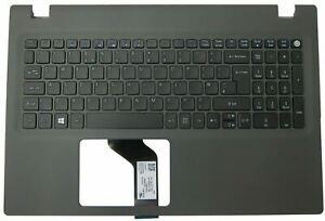Acer Aspire E5-573 E5-573G E5-573T Palmrest Touchpad Cover Keyboard Grey UK