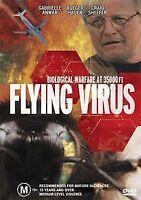 FLYING VIRUS DVD Rutger Hauer Movie - EX-RENTAL