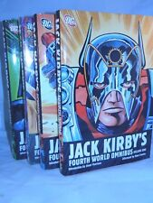 Fourth World Omnibus by Jack Kirby Volumes 1 2 3 4 Hardcover HC DC Complete Set