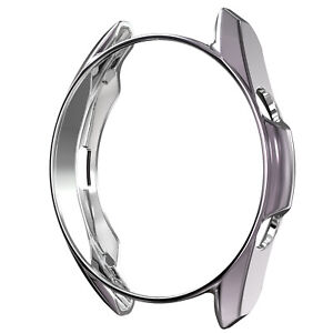 TPU Frame Case Cover & Screen Protector For Samsung Galaxy Watch 3 41mm 45mm