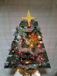 Large Wooden Christmas Tree Made From Upcycled Pallet Wood
