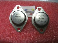 2N3773 RCA Transistor NPN Silicon TO-3 - Used Pulls Qty 2
