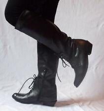 chaussures bottes cavalières femmes noir p39 office Neuves !