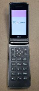 LG Wine 4 UN 540 UN540 - Brown ( US Cellular ) Flip Cellular phone Great shape!