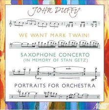 JOHN DUFFY: WE WANT MARK TWAIN CD