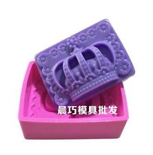 Crown Cake Mold Soap Mold Silicone Mould For Candy Chocolate Cookie