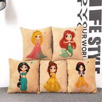 SLEEPING BEAUTY Disney Character Cushion Cover! PRINCESS AURORA 45cm UK Gift
