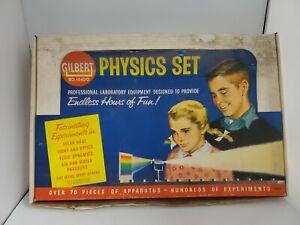 Vintage Gilbert Professional Physics Set no.15100 RARE