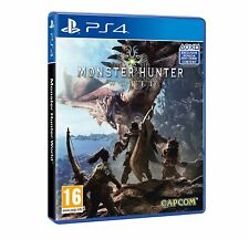 MONSTER HUNTER WORLD  PS4  usato IMPORT