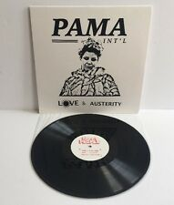 PAMA INTERNATIONAL Love & Austerity Vinyl LP Ltd Ed 111/500 New Mint