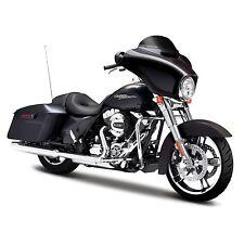 Harley Davidson modelo, 2015 Street Glide Special, maisto motocicleta 1:12