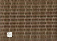 Latex Brick Sheet  Half Scale 1:24 miniature Dollhouse  #H8208 Houseworks