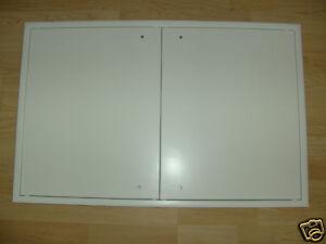 Revisionsklappe, Revisionstür, 1200x600mm, 2-flüglig