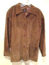 M W C ladies suede jacket medium