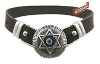 BRACELET WITH STAR OF DAVID & EVIL EYE - Jewish Jewelry Gift - Protection