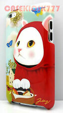 fit iPod touch 4th 4 th 4g itouch kitten cat kitty hard case red riding hood\