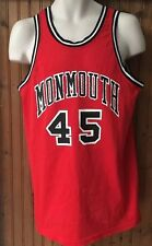 Vtg Monmouth College University Made In USA Basketball Jersey Size 44 Spanjian