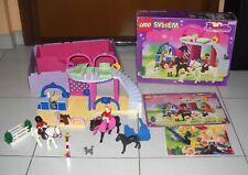 LEGO SYSTEM BELVILLE 5880 Pony Club Stables Reiterhof Cavalli OTTIMO